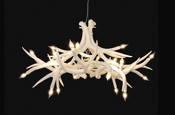 Superordinate Antler Lamps - люстра из оленьих рогов