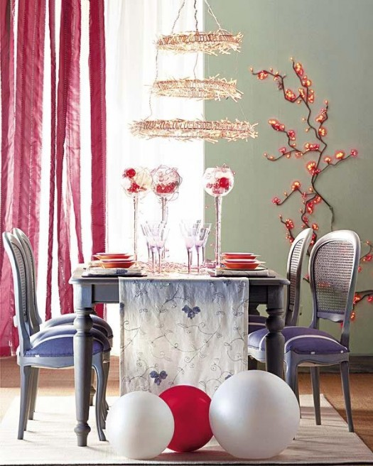 Готовимся к Новому году - украшение новогоднего стола
