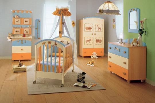 Интерьер детской комнаты – каким цветам отдать предпочтение