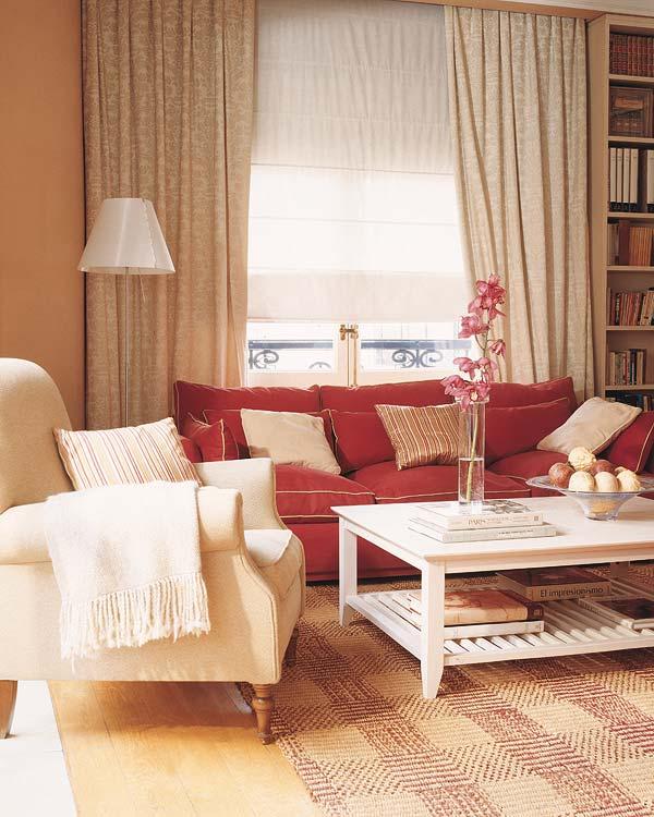 Идея по созданию интерьера небольшой гостиной