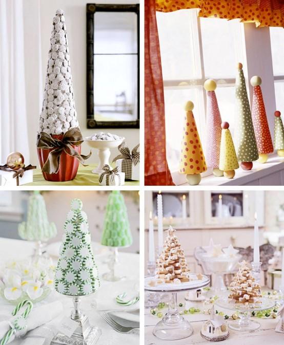 Идеи небольших новогодних елок и не только елок