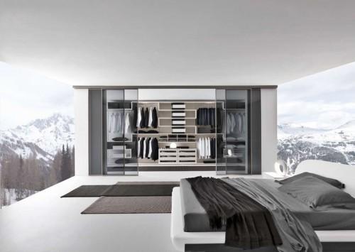 Несколько проектов современных спален от компании Presotto