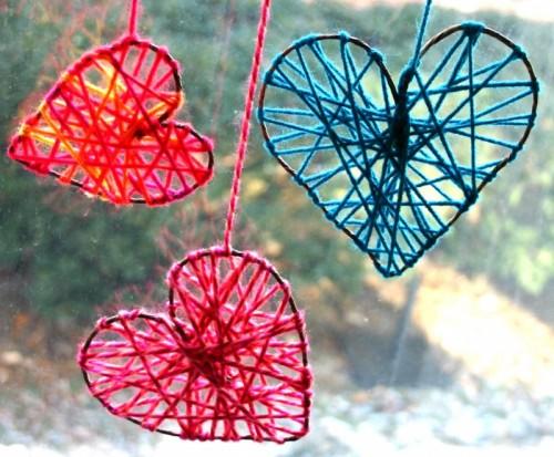 Романтичное украшение дома ко дню Святого Валентина