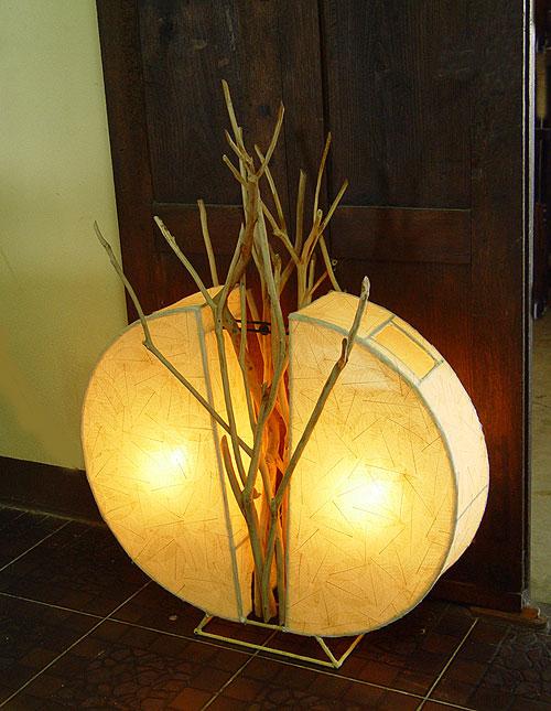 Необычные светильники из дерева от Lamp Art Design