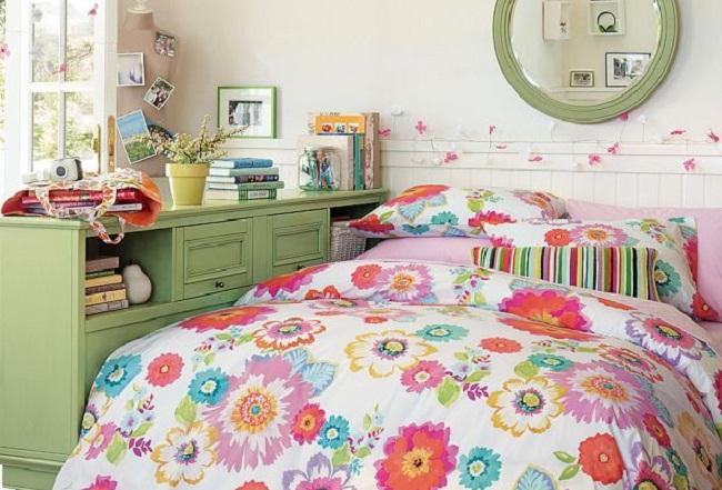 Оформление спальни  в романтичном стиле