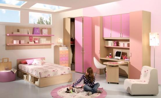 Как переделать детскую девочки в комнату девушки-подростка