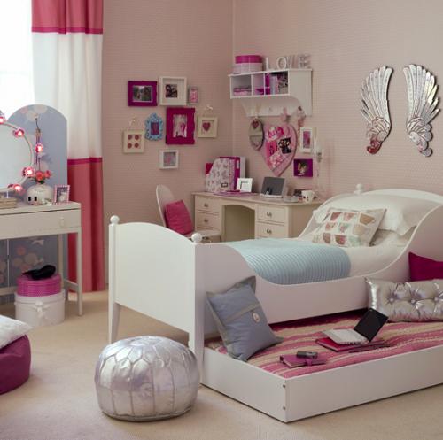 Идеи интерьера комнаты для девочки-подростка