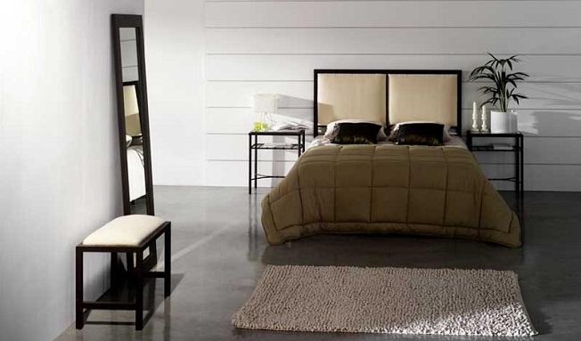 Интерьер спальни в стиле дзен