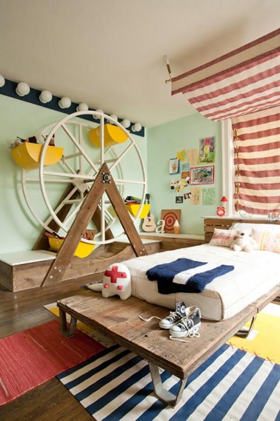 Оригинальные идеи оформления детской комнаты