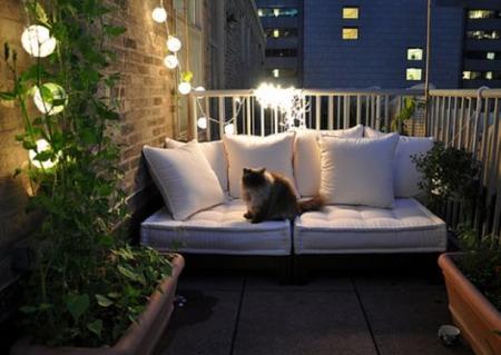 Несколько фото красивых интерьеров балконов