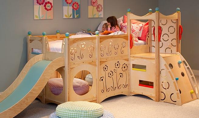 Кровать-комплекс для детской – удобно и практично