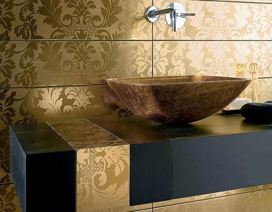 Тенденции 2012 в дизайне интерьера ванной комнаты