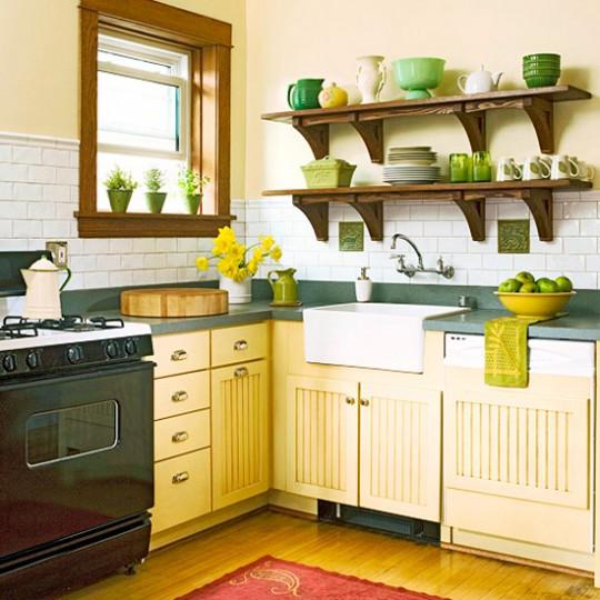 Украшение интерьера кухни фото