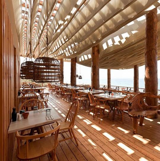 Дизайн ресторана в Греции