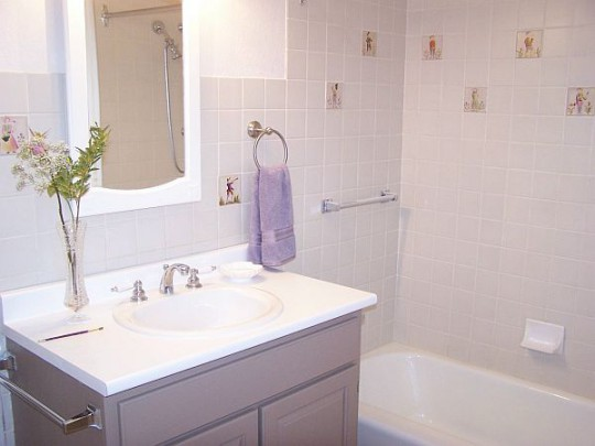 Как украсить ванную комнату