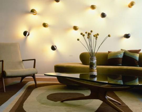 Тенденции 2012 года в дизайне гостиной комнаты