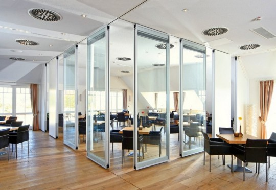 office partitions, sliding