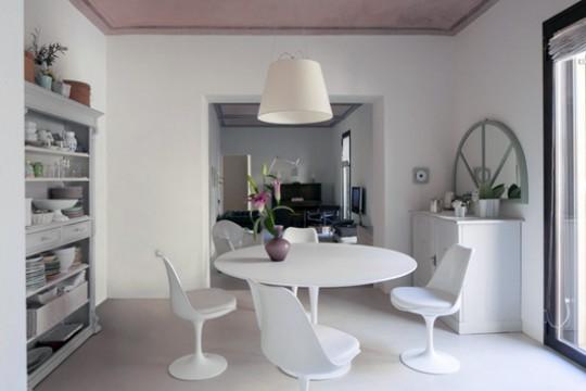 Немного нереальный интерьер квартиры от дизайнера Сабрины Бигнэми