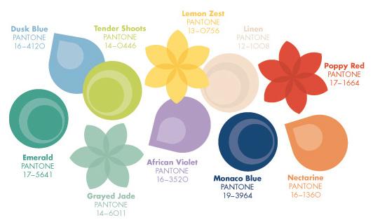 Цвета 2013 года по версии Pantone