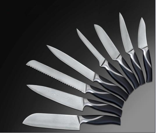 Кухонные ножи из стали