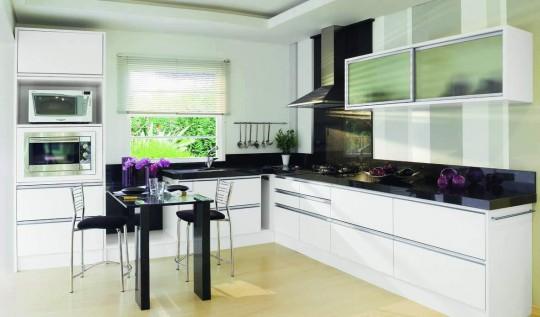 Дизайн Г-образной кухни