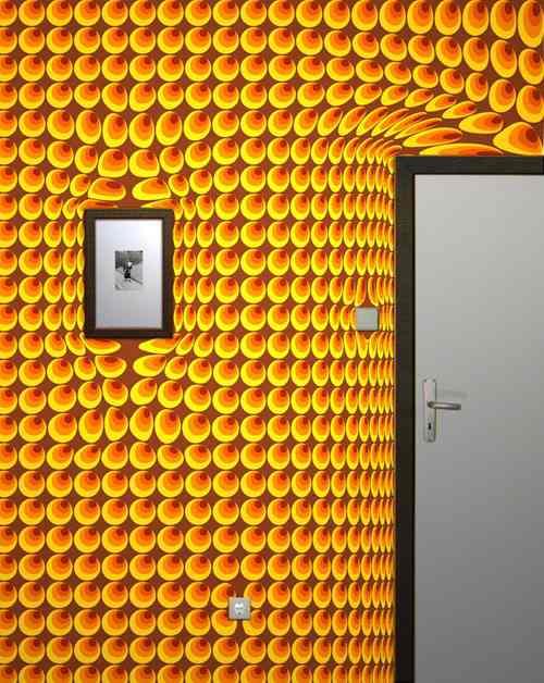 Сюрреалистичные обои - необычные эффекты на обычных стенах