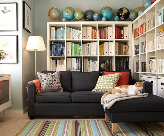 Домашняя библиотека или где хранить книги?