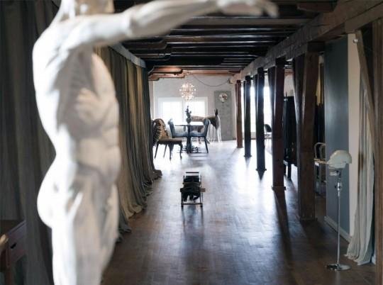 Эклектичный интерьер квартиры в Амстердаме