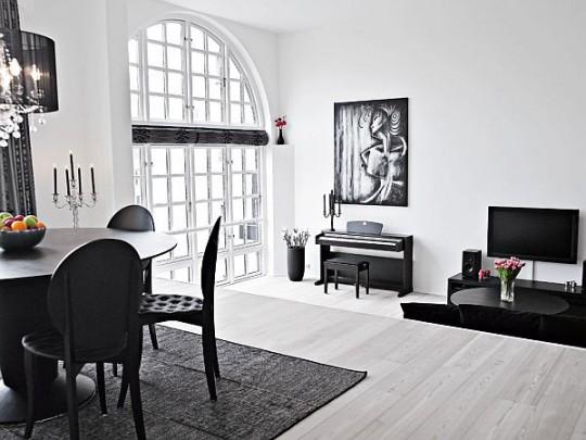 Белый пол - не только элегантно и стиль, но еще и практично