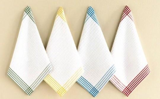 Как стирать кухонные полотенца и всегда содержать их в чистоте