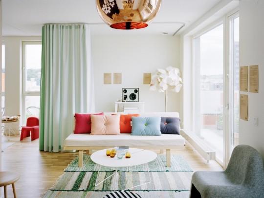 Средиземноморский стиль в гостиной