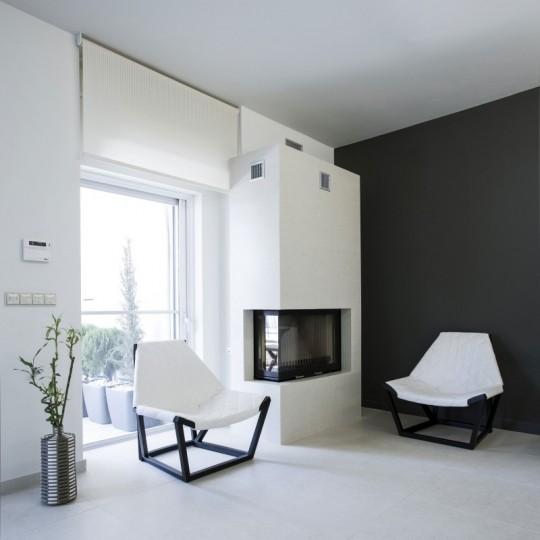 Сдержанный интерьер квартиры в Афинах