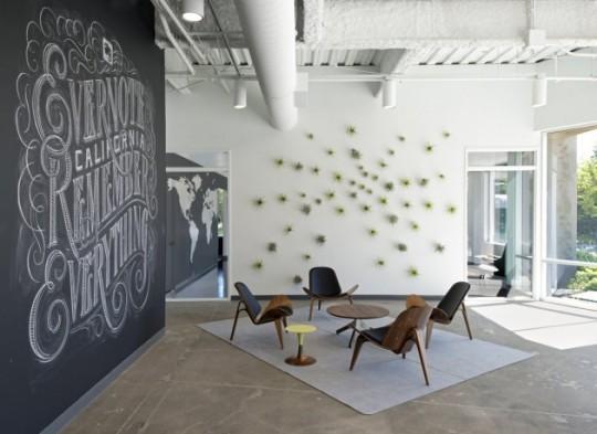 Интерьер офиса компании Evernote, Калифорния