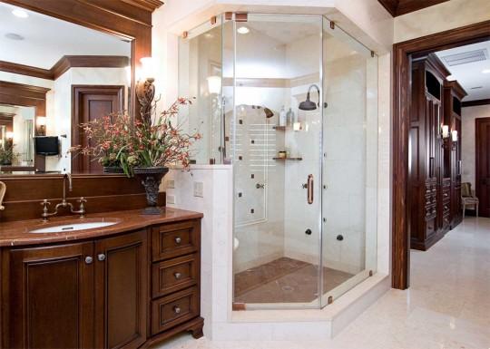 Как придать своей ванной комнате роскошный внешний вид