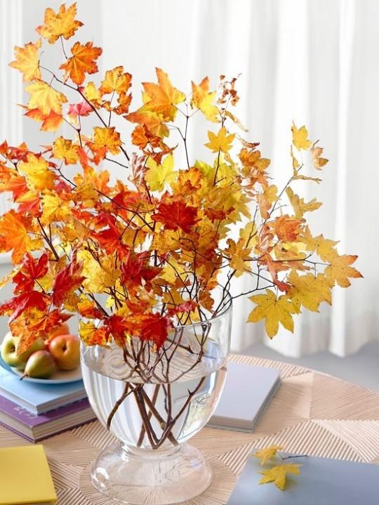 Осенние композиции для украшения дома