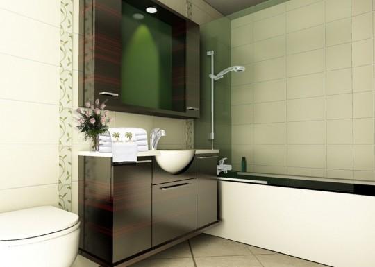 Тенденции 2014 года в дизайне ванной комнаты