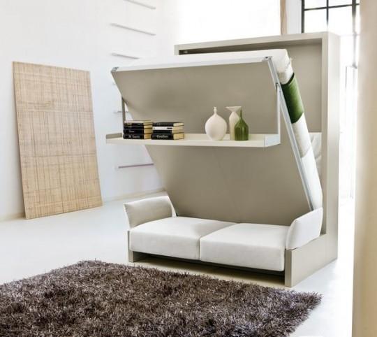 Скрытая или потайная кровать