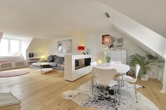 Современный скандинавский стиль в интерьере одной квартиры